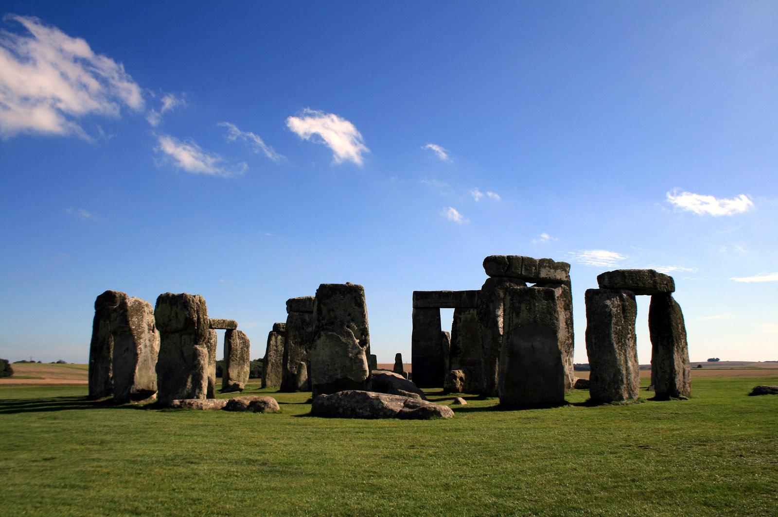 Foto del cerchio di stonehenge 36